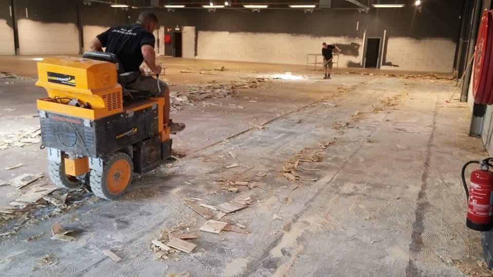 Vaak Vloer verwijderen - elk type vloer verwijderen EY72